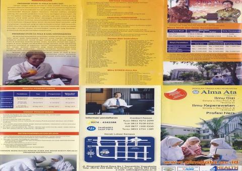 leaflet alih jenjang Alma Ata